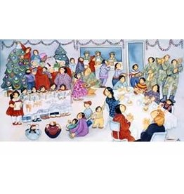 "Barbara Lavallee Barbara Lavallee ""Operation Santa Claus"" art print"