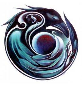 Nathalie Parenteau Raven Mandala (art card)