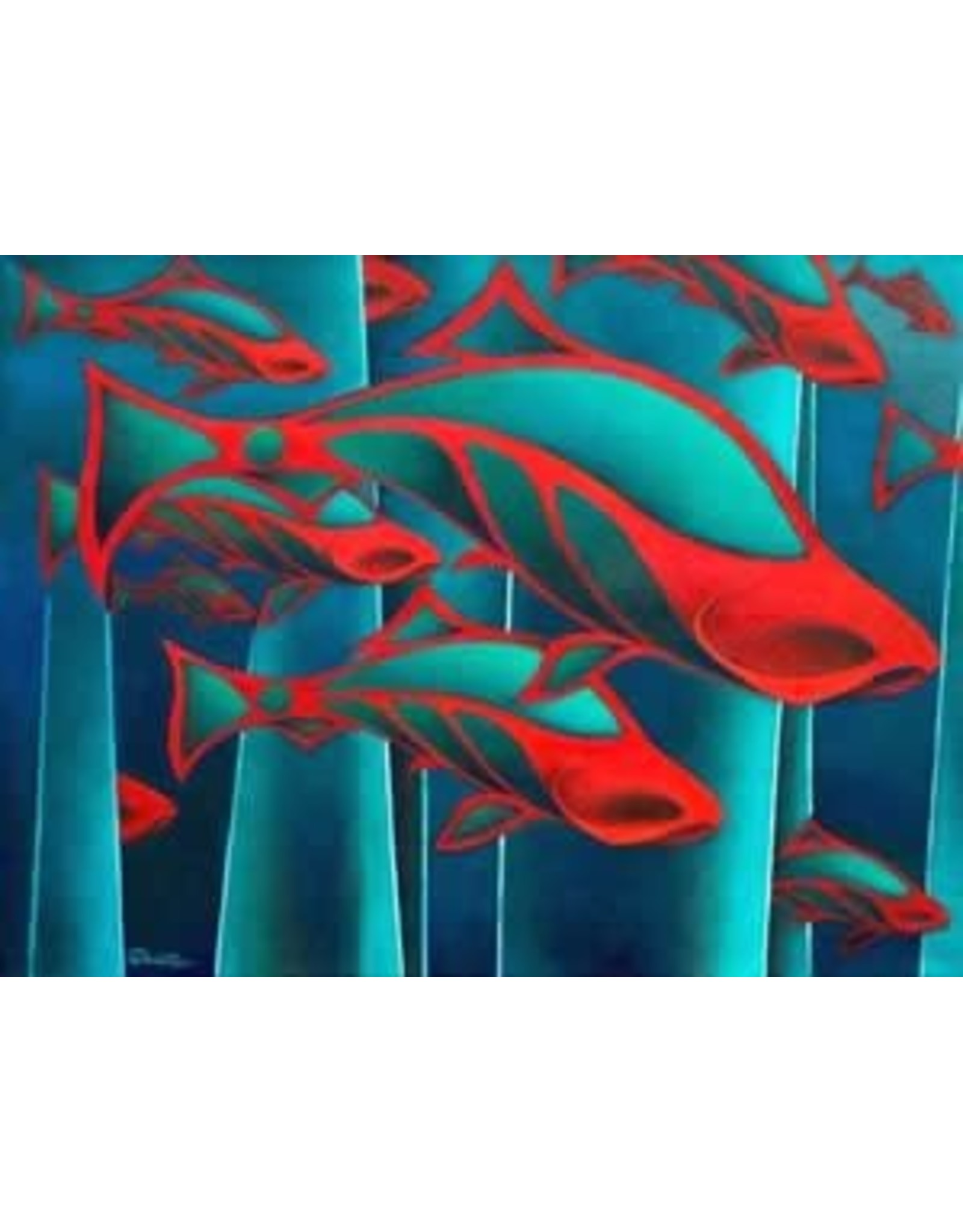 "Nathalie Parenteau Nathalie Parenteau ""Salmon School"""