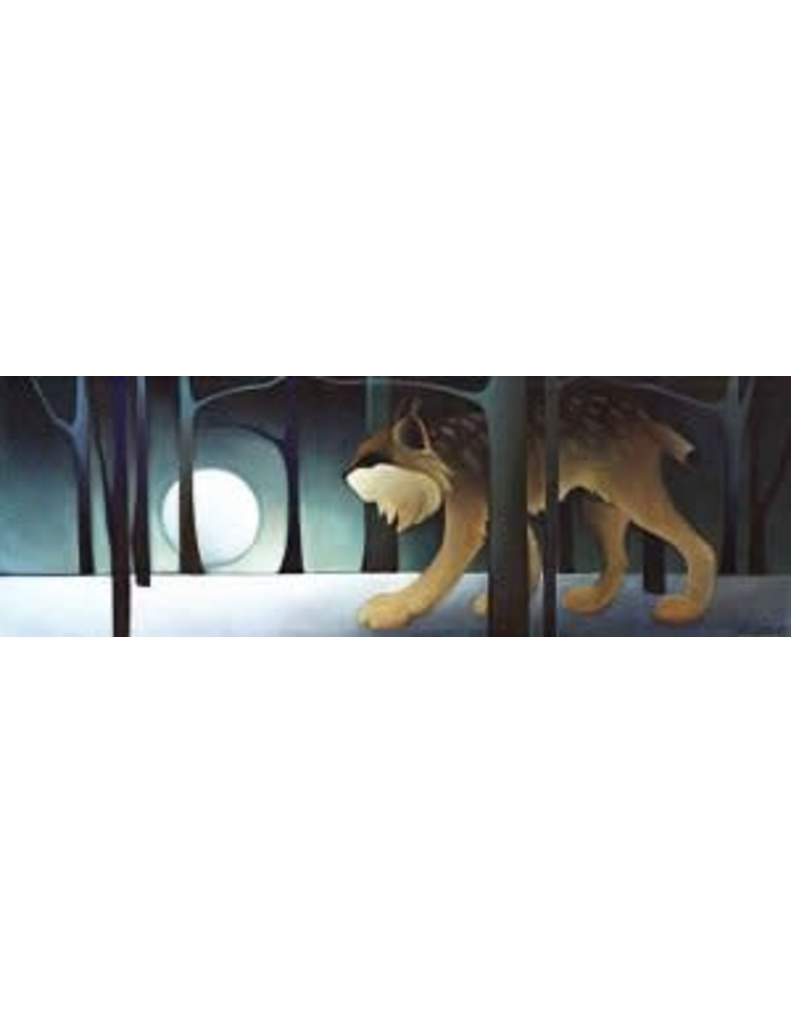 "Nathalie Parenteau Nathalie Parenteau ""Shadow Lynx"" Art Card"