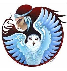 "Nathalie Parenteau Nathalie Parenteau ""Snowy Owl Mandala"""