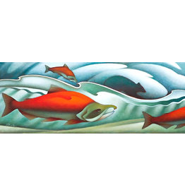 "Nathalie Parenteau Nathalie Parenteau ""Song of the Salmon"" Art Card"