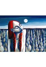 "Nathalie Parenteau Nathalie Parenteau ""Sweet Grass Moon"" Art Card"