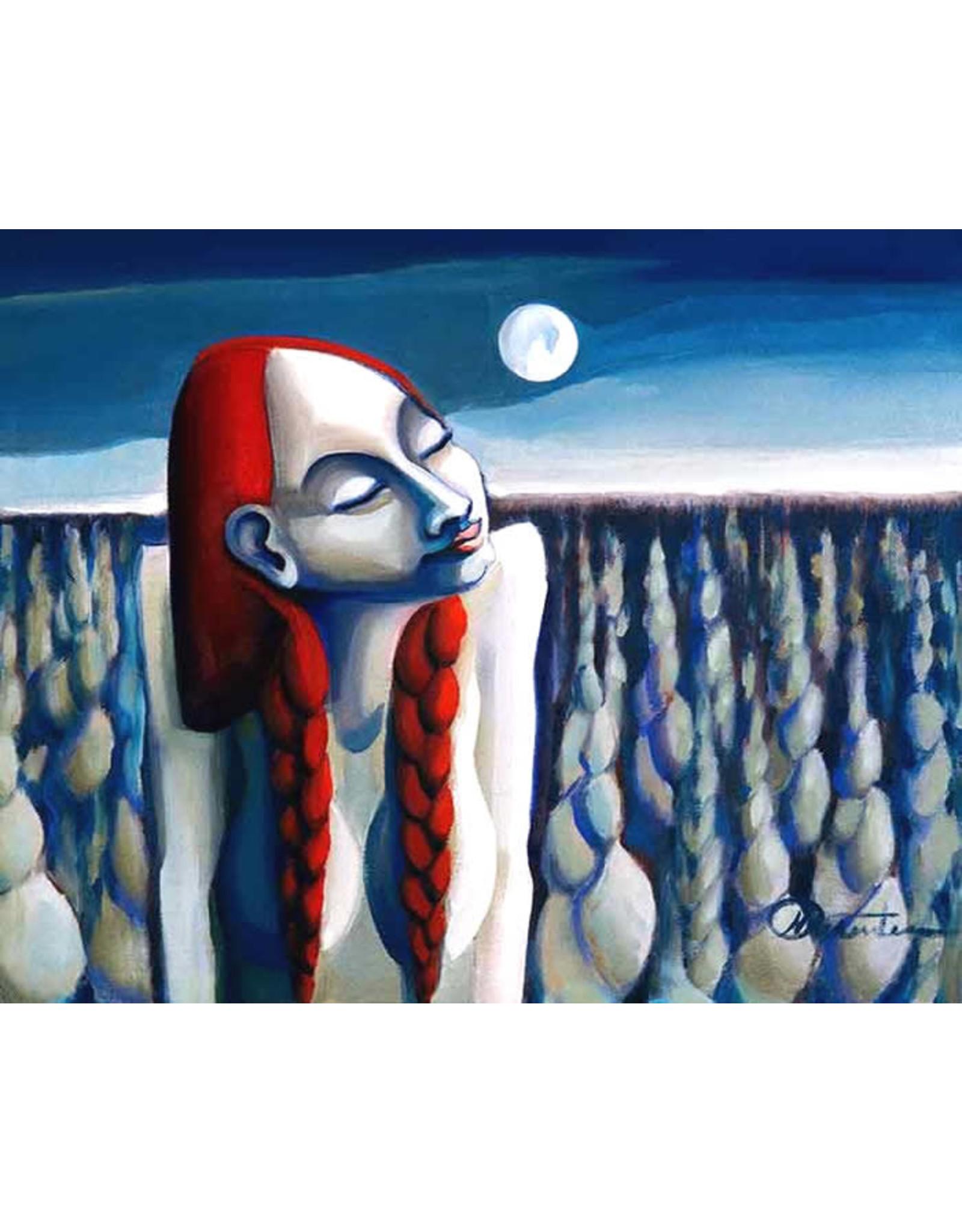 Nathalie Parenteau Sweet Grass Moon (art card) | Nathalie Parenteau