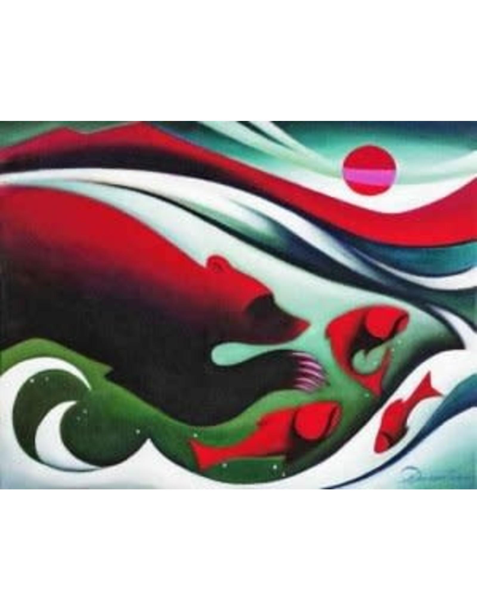 Nathalie Parenteau The Catch (art card) | Nathalie Parenteau