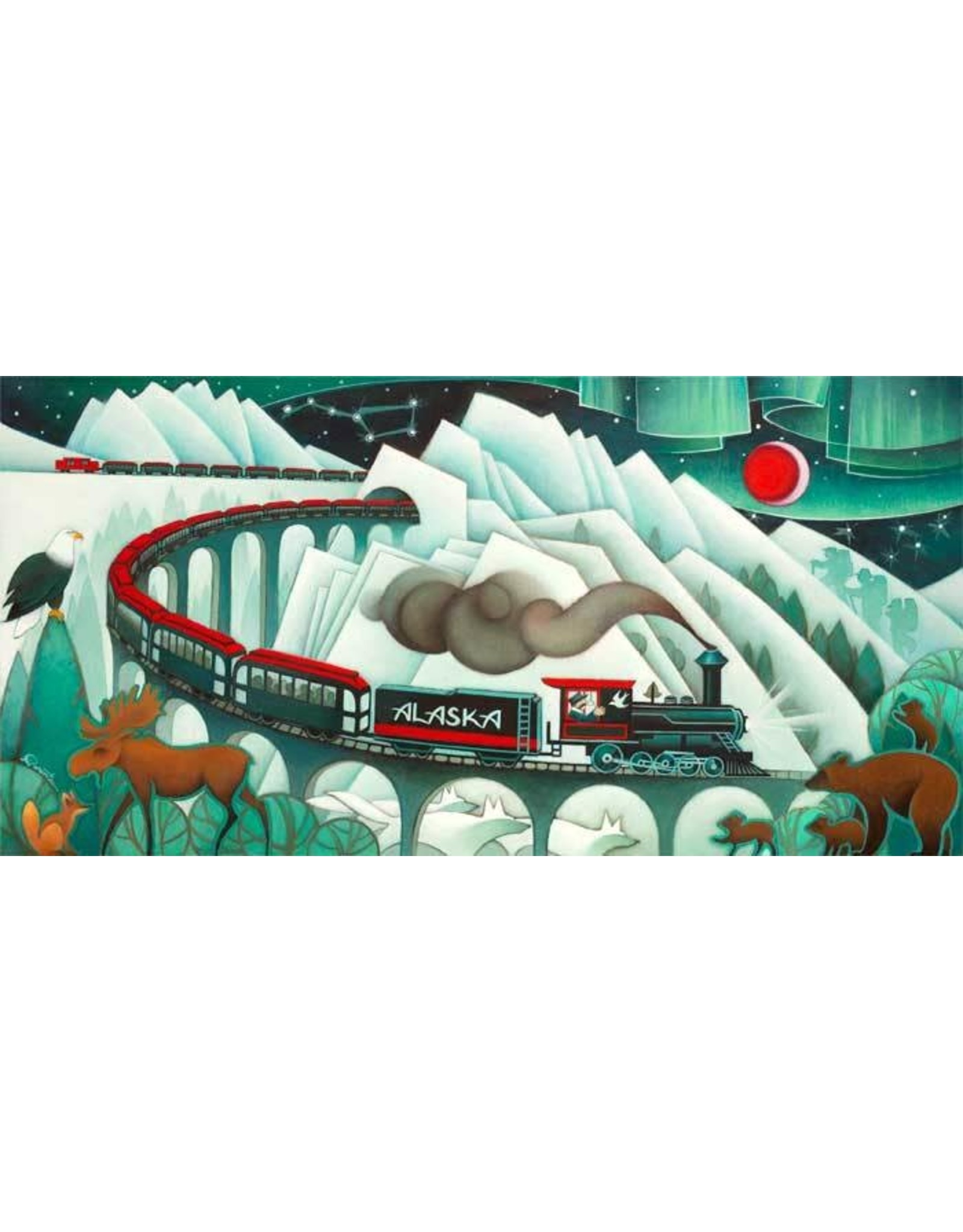 Nathalie Parenteau Trains of Alaska | Nathalie Parenteau