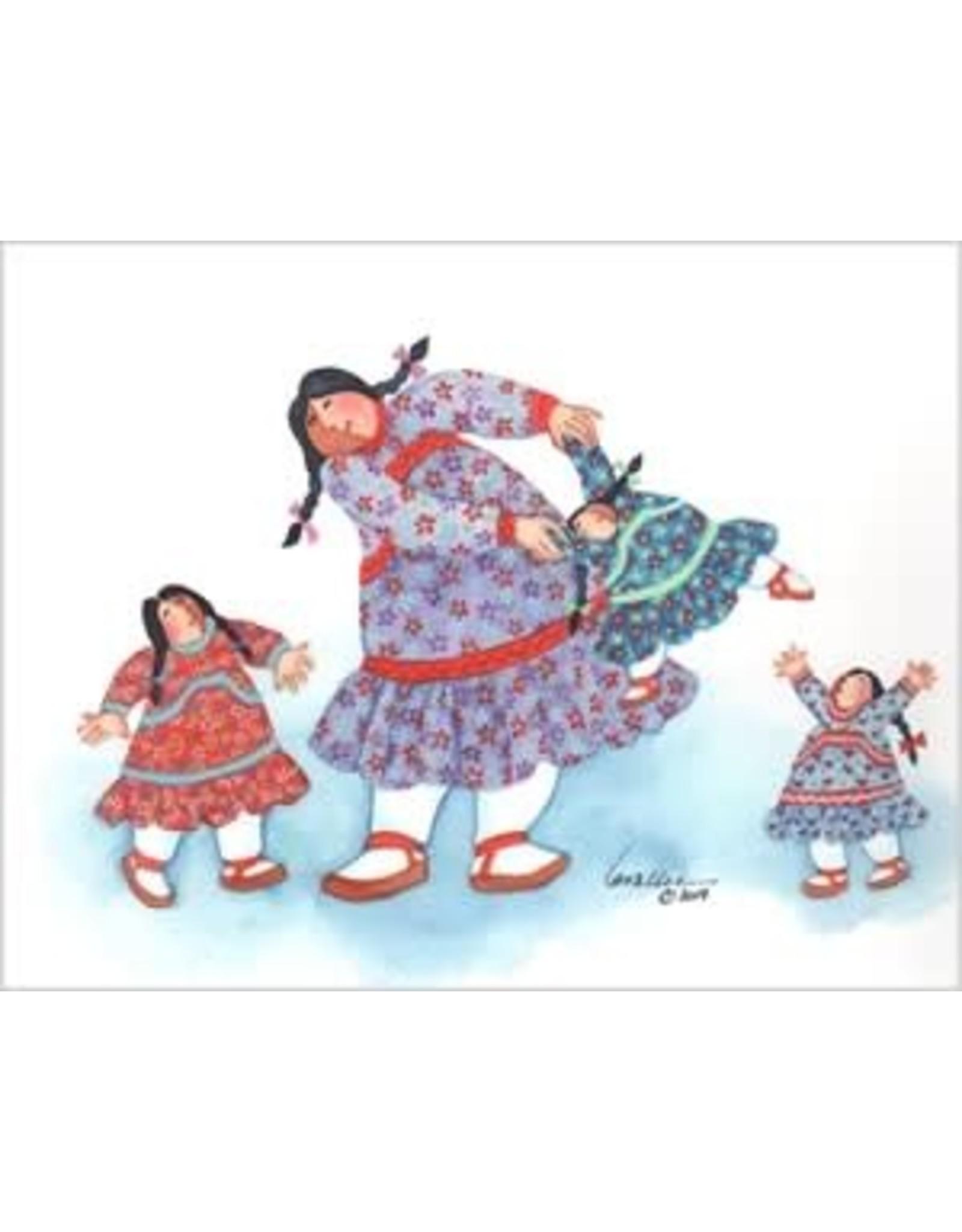 "Barbara Lavallee Barbara Lavallee ""Playtime"" art print"