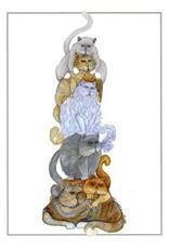 Barbara Lavallee Pole Cats (art card) | Barbara Lavallee