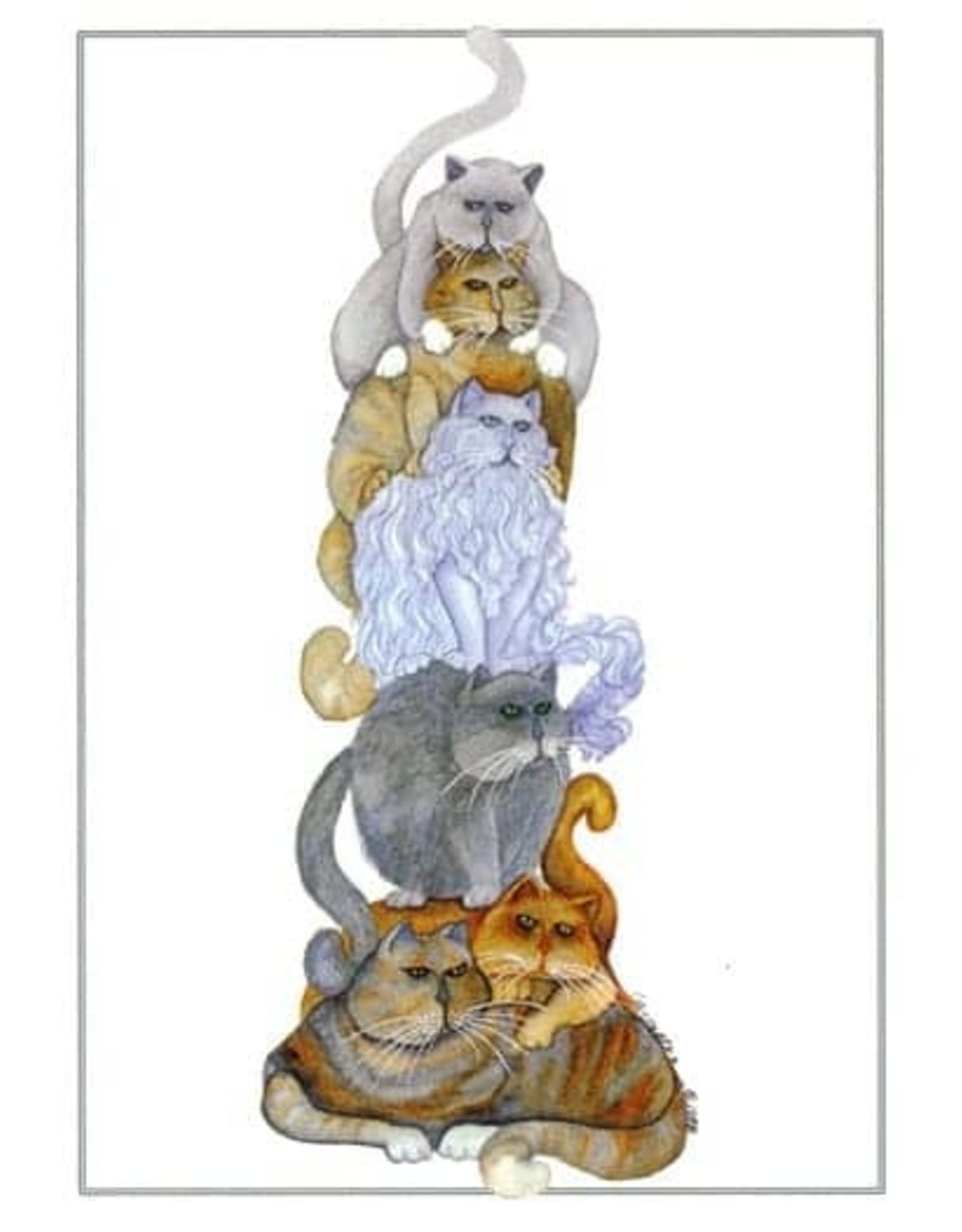 "Barbara Lavallee Barbara Lavallee ""Pole Cats"" Art Card"