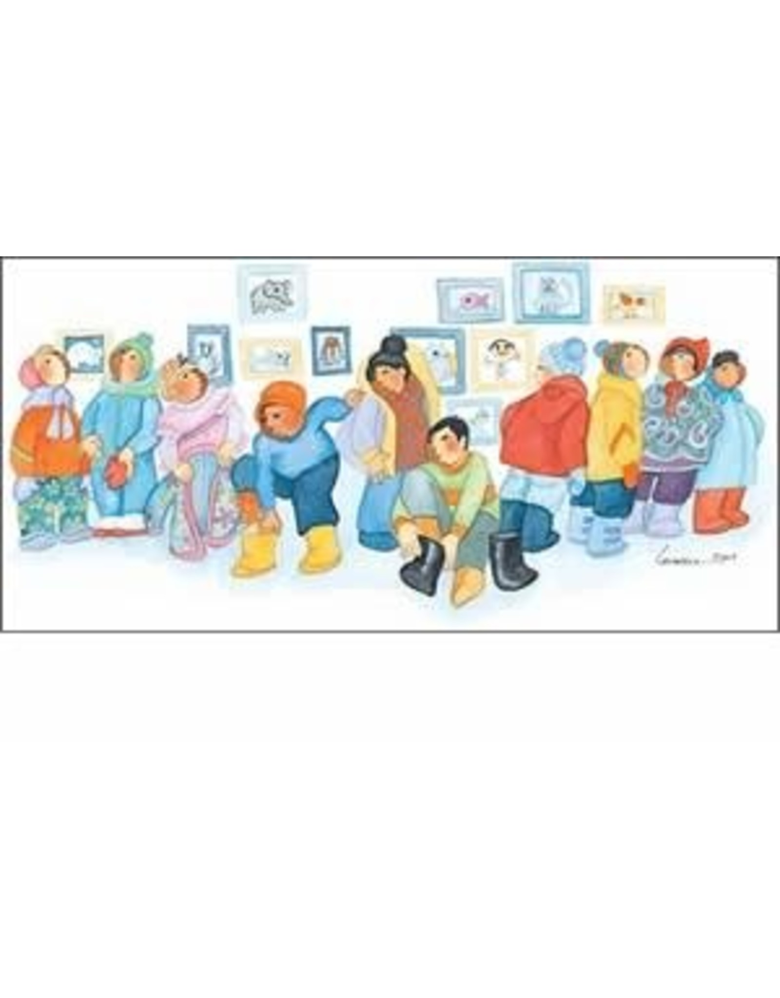 "Barbara Lavallee Barbara Lavallee ""Ready for Recess"" art print"