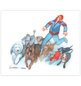 Barbara Lavallee Running with Dogs