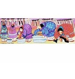 """Barbara Lavallee Barbara Lavallee """"Salmon Harvest"""" art print"""