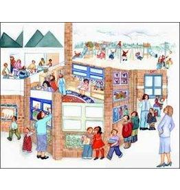 "Barbara Lavallee Barbara Lavallee ""School Days"" art print"