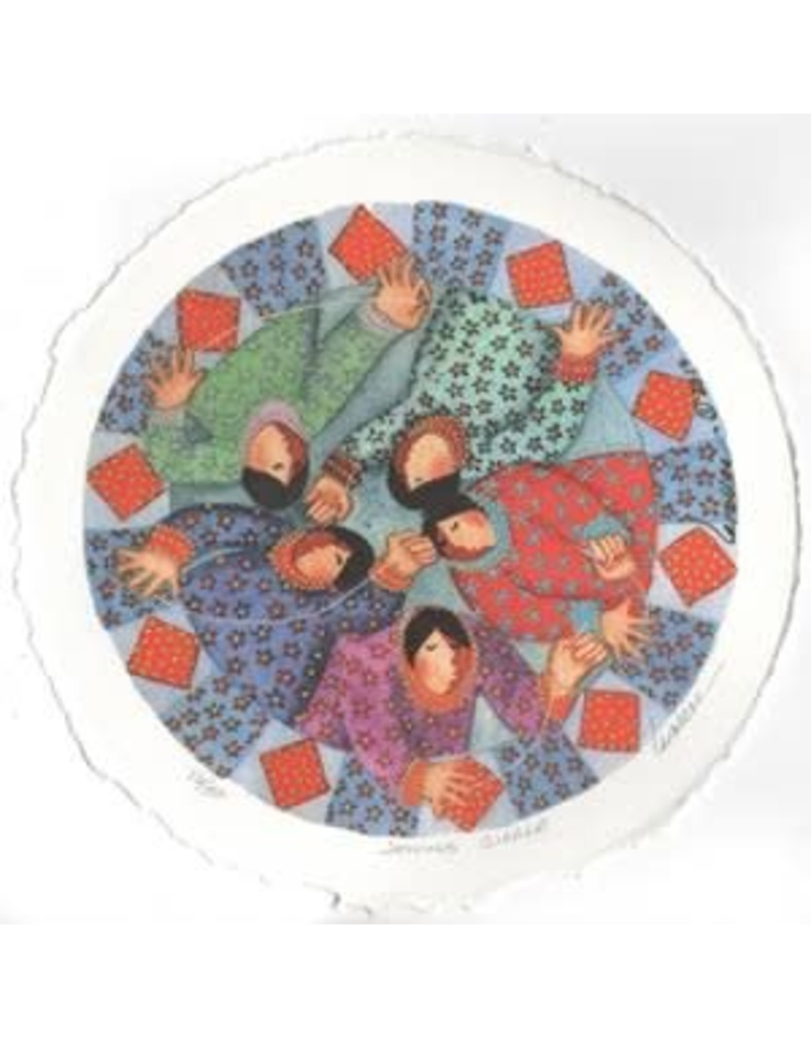 "Barbara Lavallee Barbara Lavallee ""Sewing Circle"" art print"