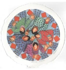 "Barbara Lavallee Barbara Lavallee ""Sewing Circle"" art print"