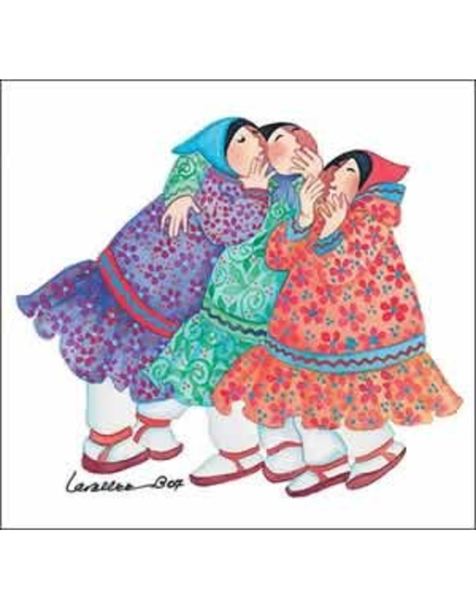 "Barbara Lavallee Barbara Lavallee ""Sharing Secrets"" art print"