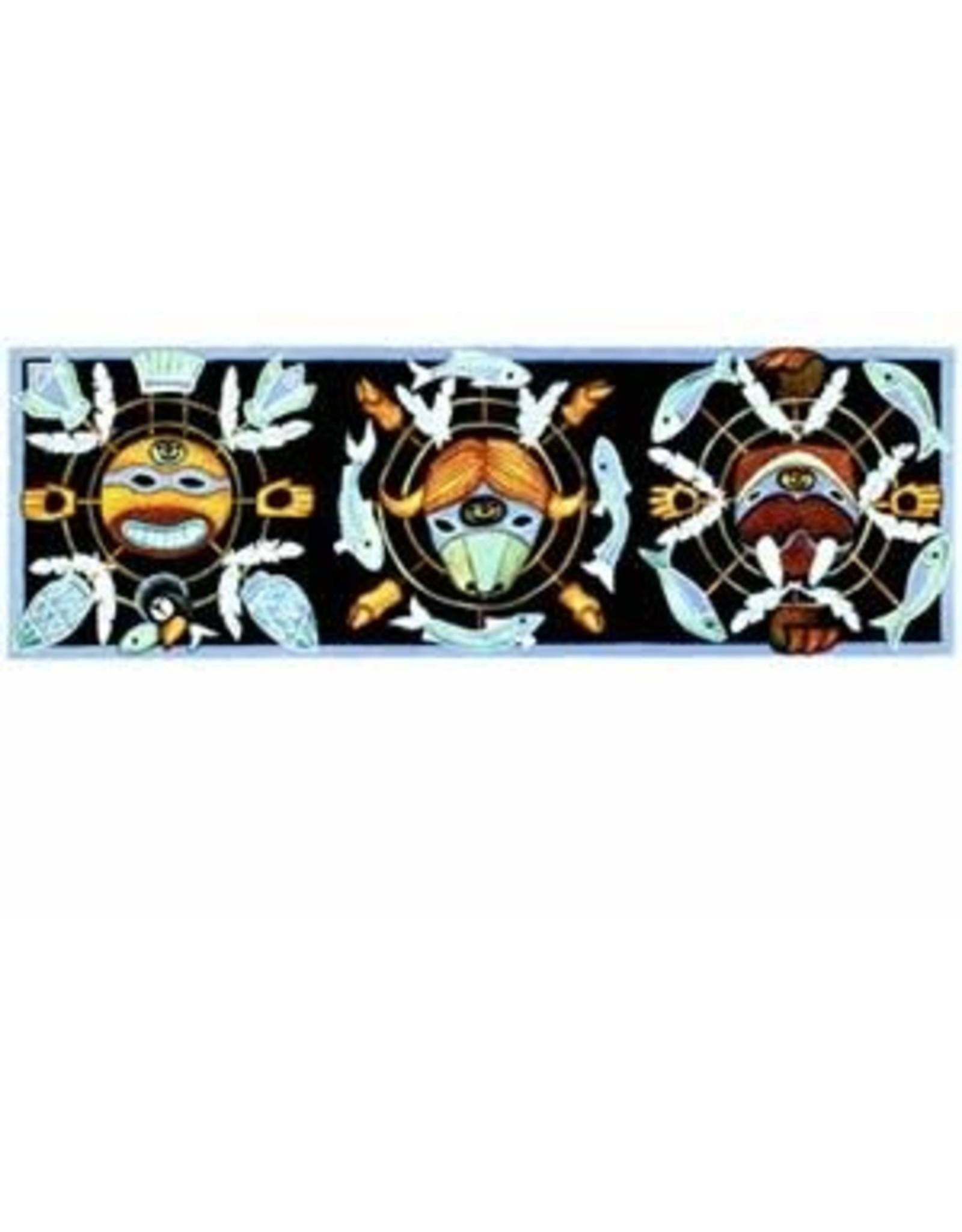 "Barbara Lavallee Barbara Lavallee ""Spirit Masks"" art print"