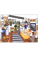 Barbara Lavallee Time Out (art card)   Barbara Lavallee