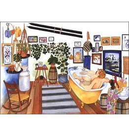Barbara Lavallee Time Out (art card)