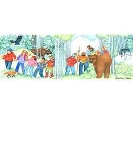 "Barbara Lavallee Barbara Lavallee ""Walk on the Wild Side"" art print"