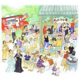 "Barbara Lavallee Barbara Lavallee ""Wedding Party"" art print"