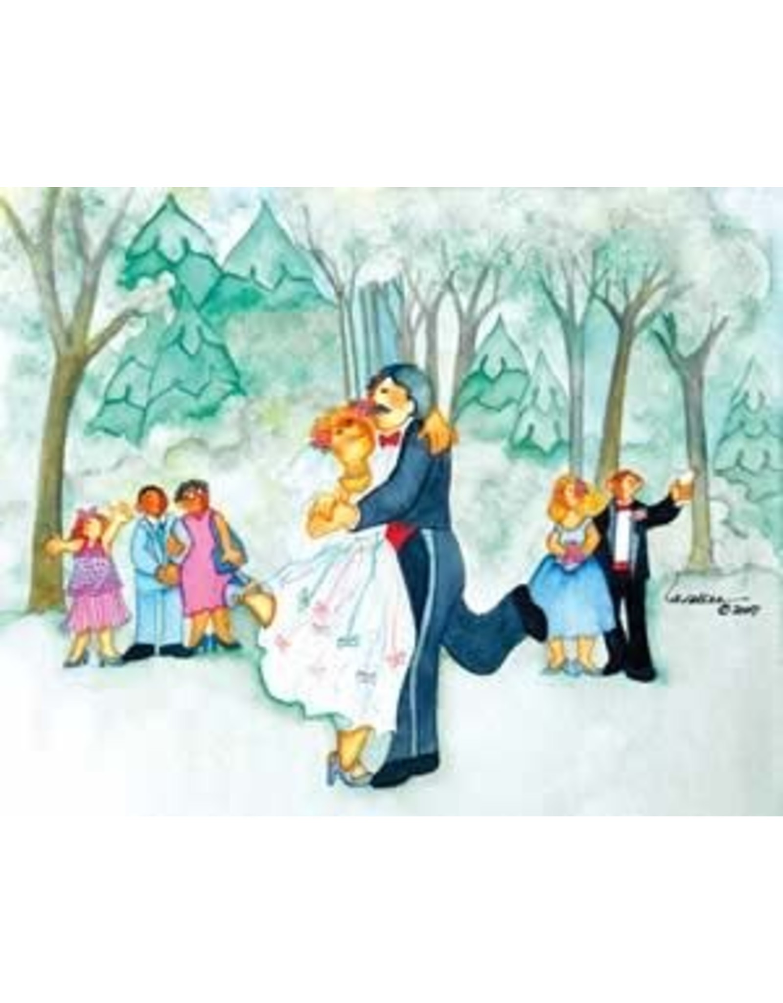 "Barbara Lavallee Barbara Lavallee ""Wedding Waltz"" art print"