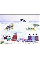 "Barbara Lavallee Barbara Lavallee ""Whale Sighting"" art print"
