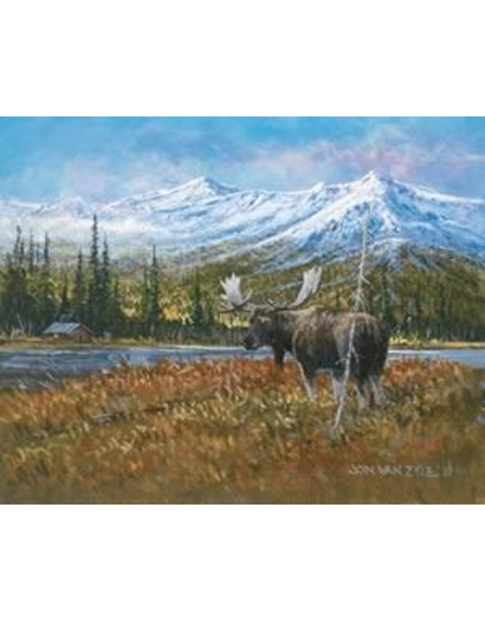 """Jon Van Zyle Jon Van Zyle """"Across the Pond"""" art print"""