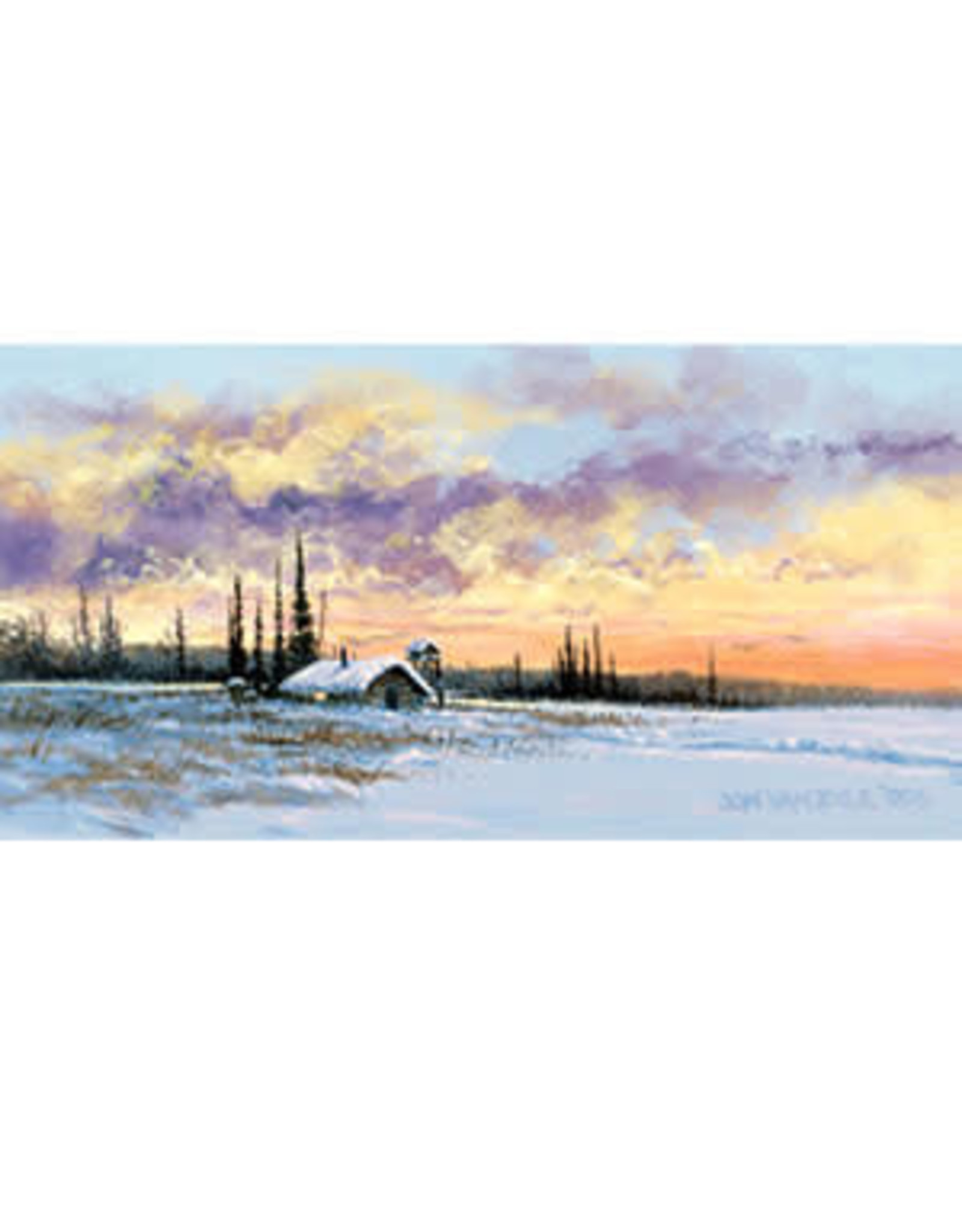 Jon Van Zyle Alaskan Sunset | Jon Van Zyle