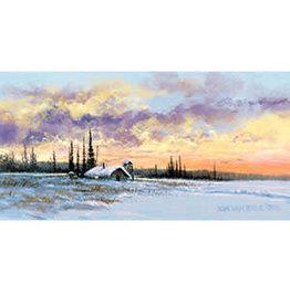 Jon Van Zyle Alaskan Sunset