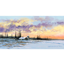 """Jon Van Zyle Jon Van Zyle """"Alaskan Sunset"""" art print"""