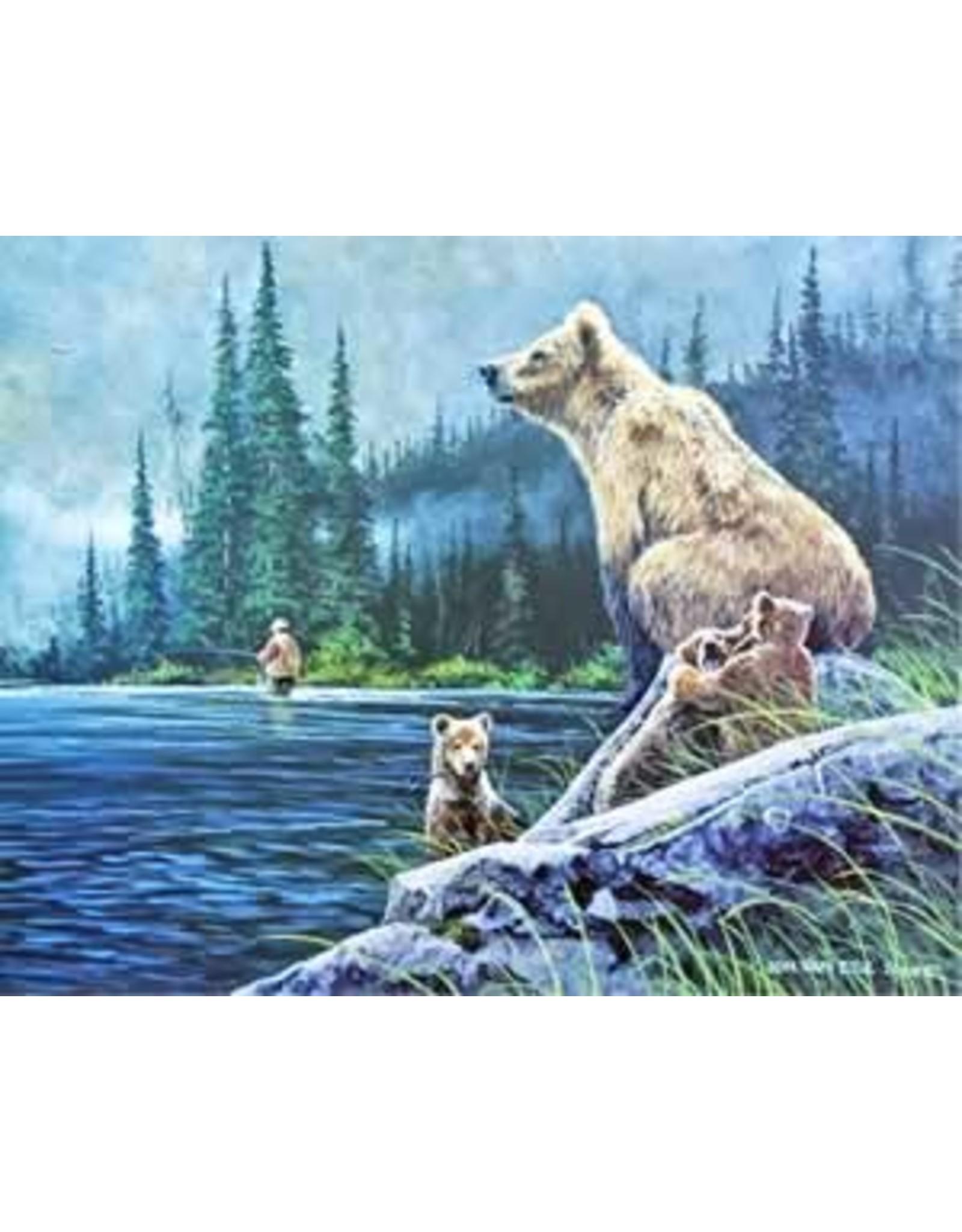 """Jon Van Zyle Jon Van Zyle """"Bear Necessities"""" art print"""
