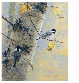 "Jon Van Zyle Jon Van Zyle ""Birch Birdies"" art print"