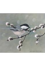 """Jon Van Zyle Jon Van Zyle """"Chickadee Dee Dee"""" art print"""