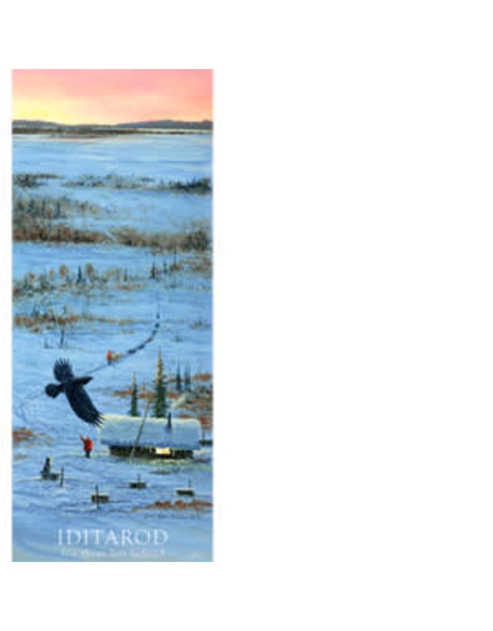 Jon Van Zyle For Those Left Behind (2017 Iditarod Poster) | Jon Van Zyle