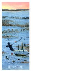 Jon Van Zyle For Those Left Behind (2017 Iditarod Poster)