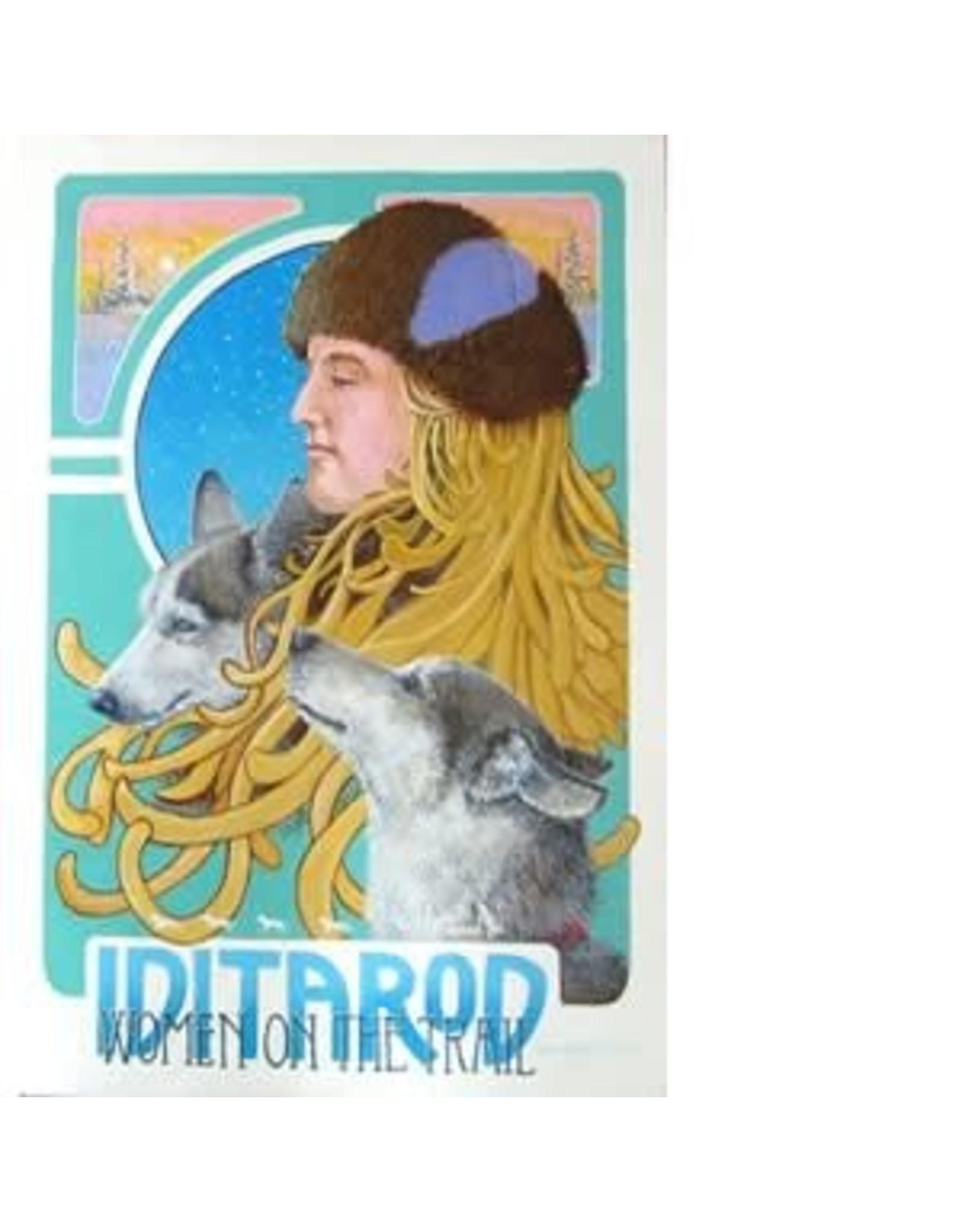 """Jon Van Zyle Jon Van Zyle """"Iditarod 2019"""" Poster"""