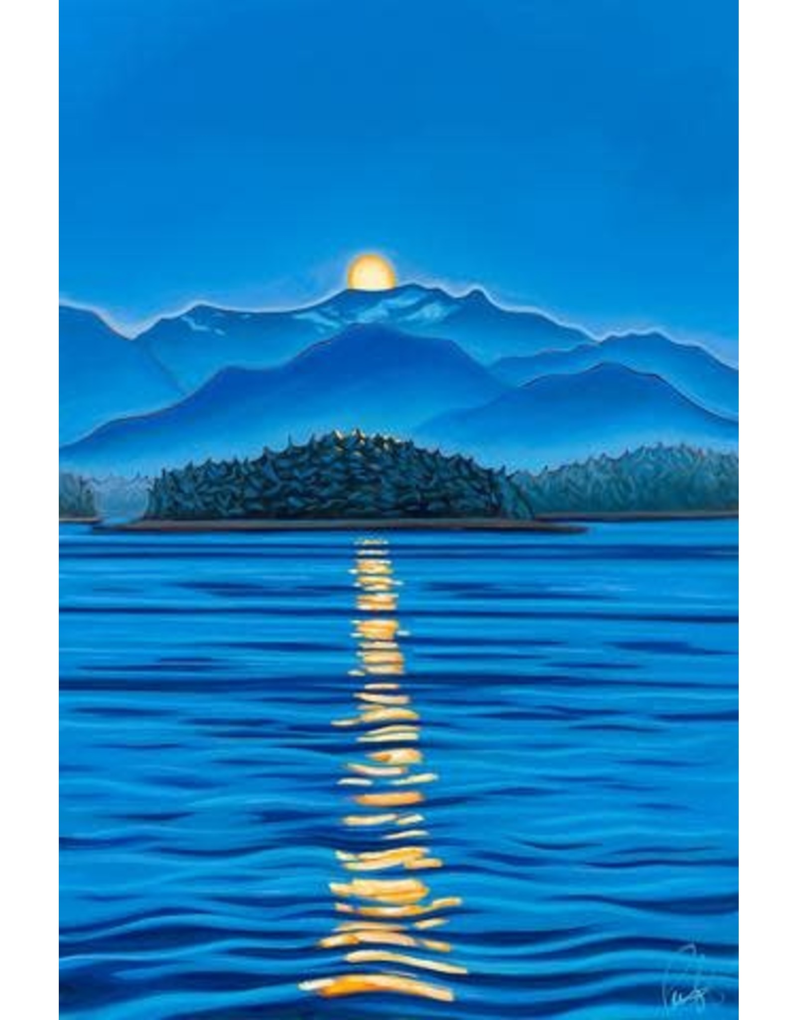 "Grant Pecoff Grant Pecoff ""Alaska Moonrise"""
