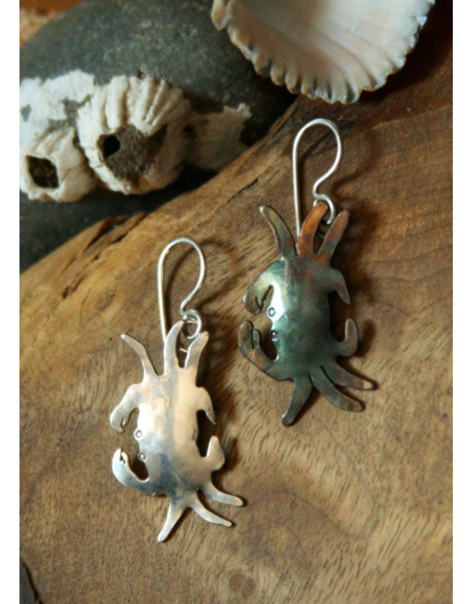 Water's Edge Studio Water's Edge Earrings Crab