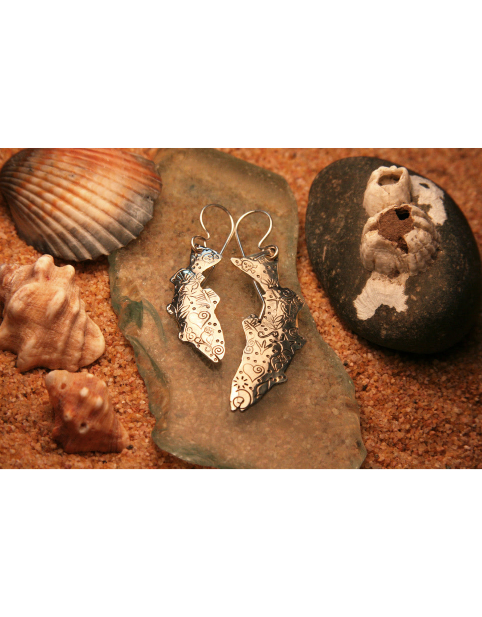 Water's Edge Studio Water's Edge Earrings Fish