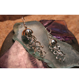 Water's Edge Studio Water's Edge Earrings Jelly Fish
