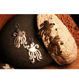 Water's Edge Studio Water's Edge Earrings Octopus