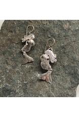 Water's Edge Studio Water's Edge Earrings Mermaid Silver