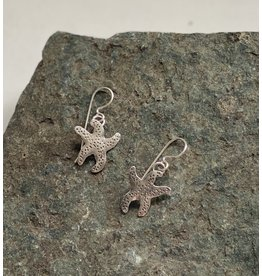 Water's Edge Studio Water's Edge Earrings Sea Star Silver