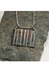 Water's Edge Studio Water's Edge Pendant Birch Tree Patina wide
