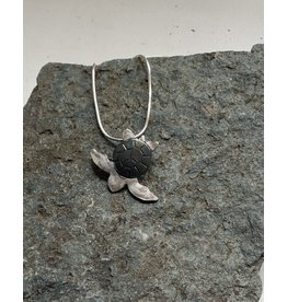 Water's Edge Studio Water's Edge Pendant Turtle Patina