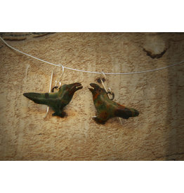 Water's Edge Studio Water's Edge Earrings Raven
