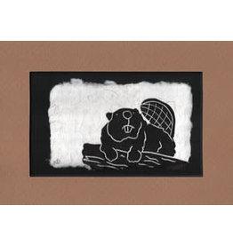 KB's Handmade Creations Beaver (framed)