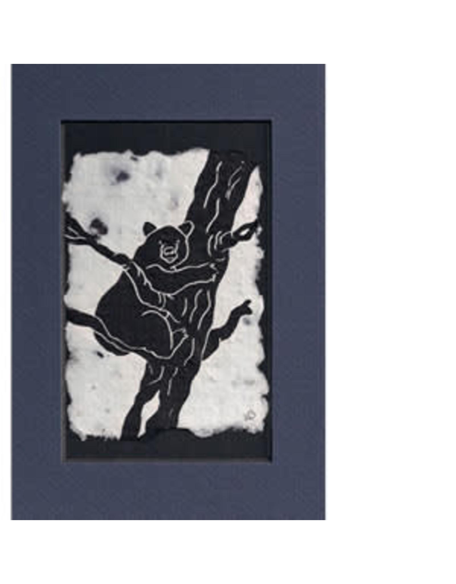 KB's Handmade Creations Black Bear (framed) | Karen Beason