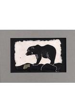 "KB's Handmade Creations Karen Beason ""Brown Bear"" framed art print"